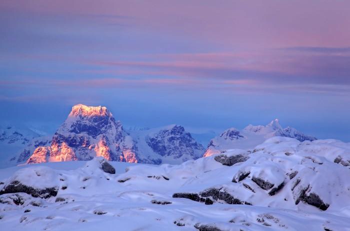Giữa vùng đất giá băng và hoang vu ở Nam Cực