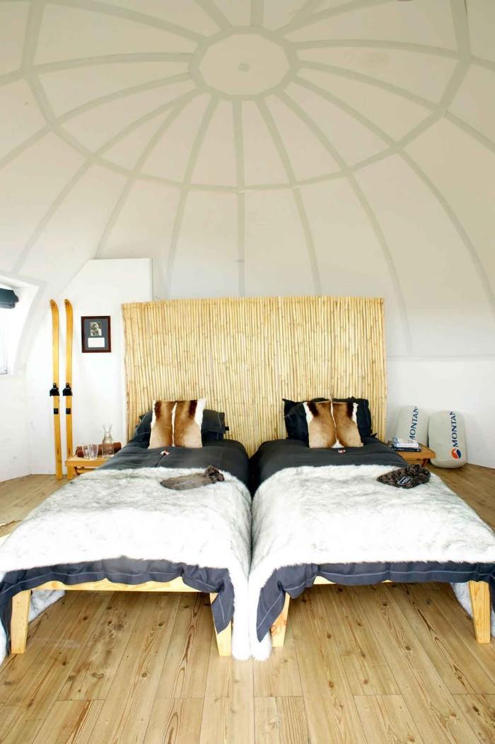 Phòng ngủ ấm áp - Ảnh: White Desert