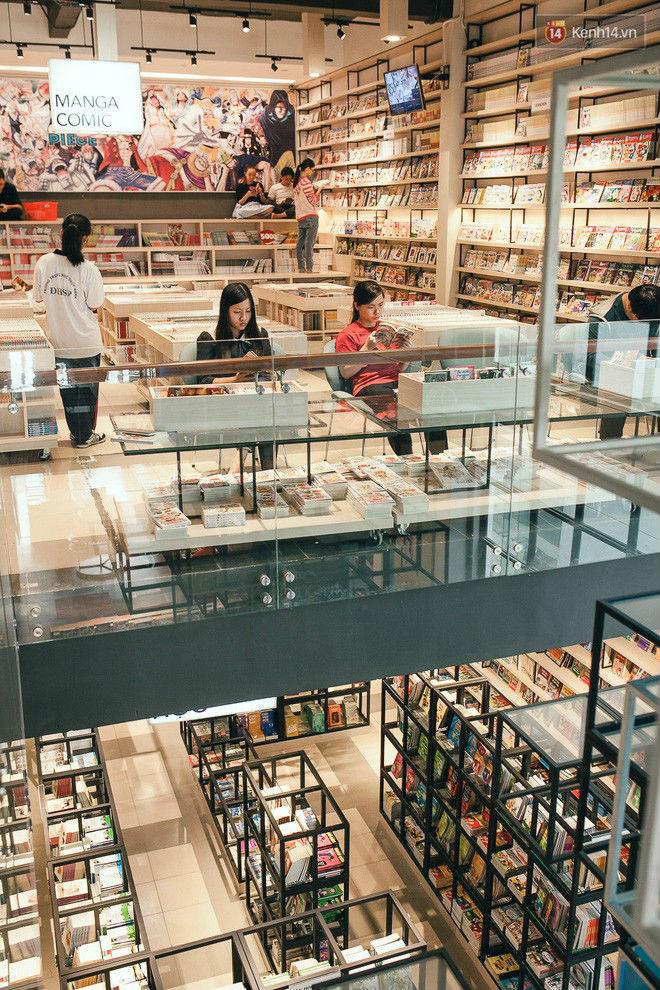 Bên đây là khu vực riêng dành cho những ai mê thế giới Manga.