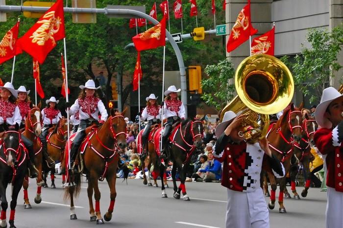 Diễu hành trong lễ hội được xem như màn trình diễn lớn nhất hành tinh