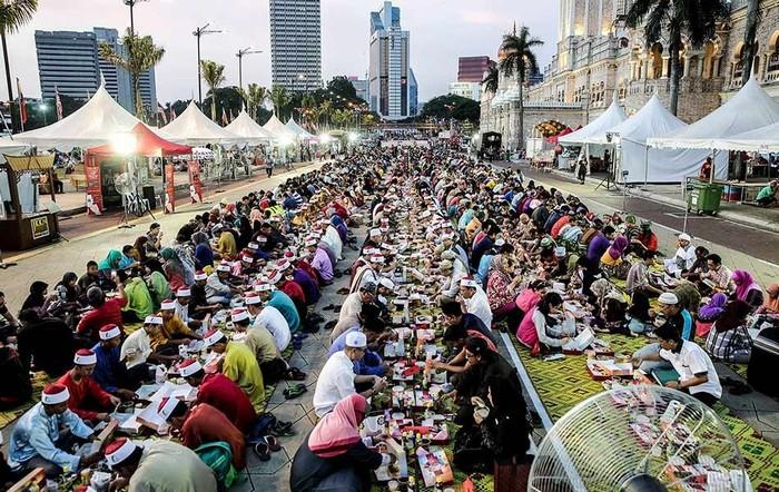 Bữa tiệc xả chay ở Kuala Lumpur