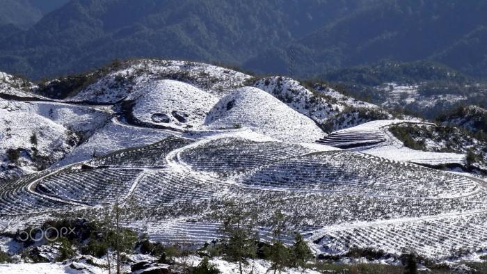 Sa Pa - ngỡ như thị trấn nào đó của châu Âu chìm trong tuyết trắng những ngày đông