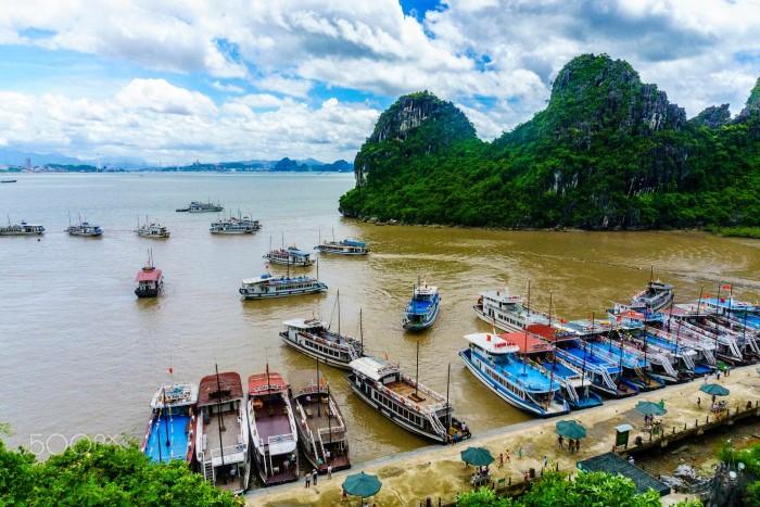 Hòn đảo xinh đẹp của Hạ Long