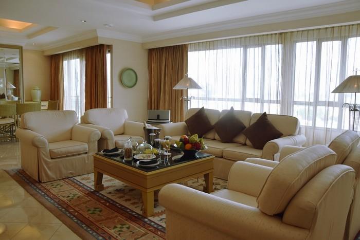 Căn phòng Imperial Suite có tổng diện tích lên tới 231 m2, là phòng Tổng thống lớn nhất ở TP. HCM hiện nay.