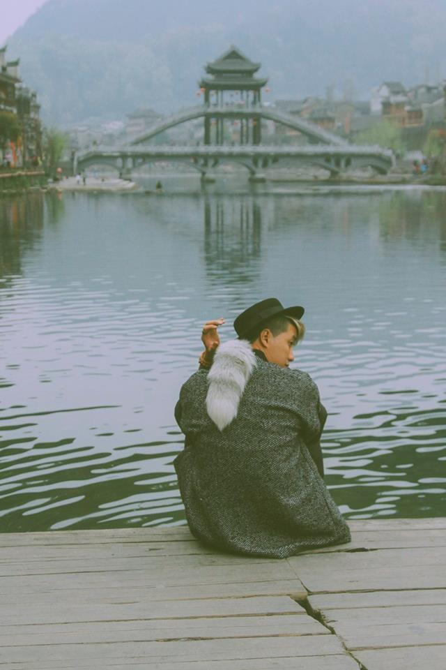 Bên dòng sông gắn liền với cuộc sống của người dân cổ trấn