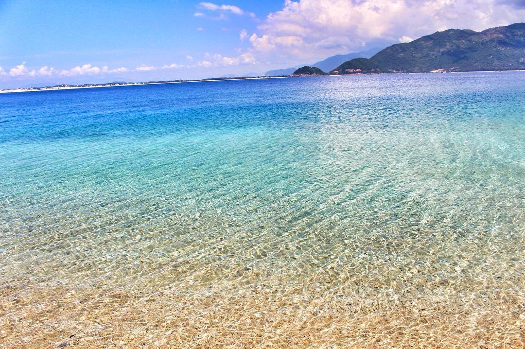 """Một """"thiên đường biển"""" trong xanh - Ảnh: @uyenphuong.cl"""