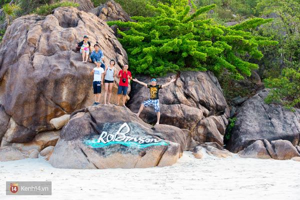 Hoang đảo Robinson của vịnh Cam Ranh - Ảnh: Kenh14.vn