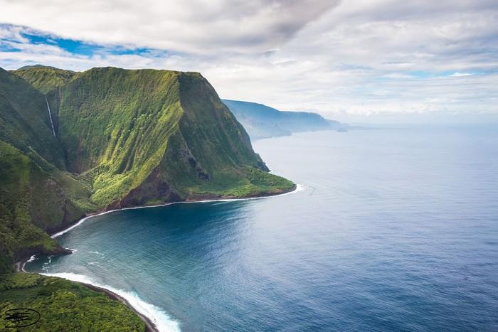 Núi vươn ra tận biển