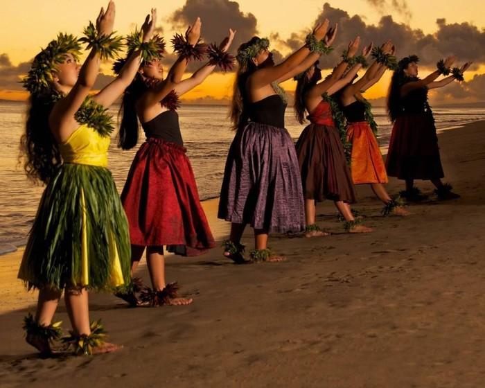 Vũ điệu Hula truyền thống ở Hawaii