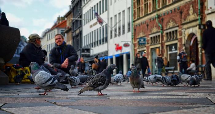 Khu phố đi bộ sầm uất bậc nhất Đan Mạch