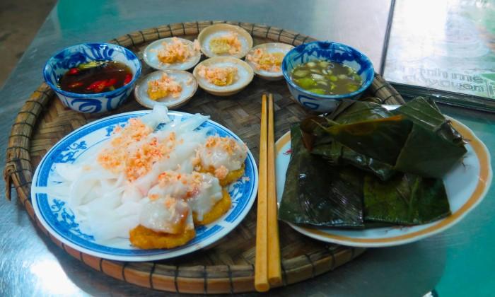 Mê li các loại bánh từ bột gạo ở Huế