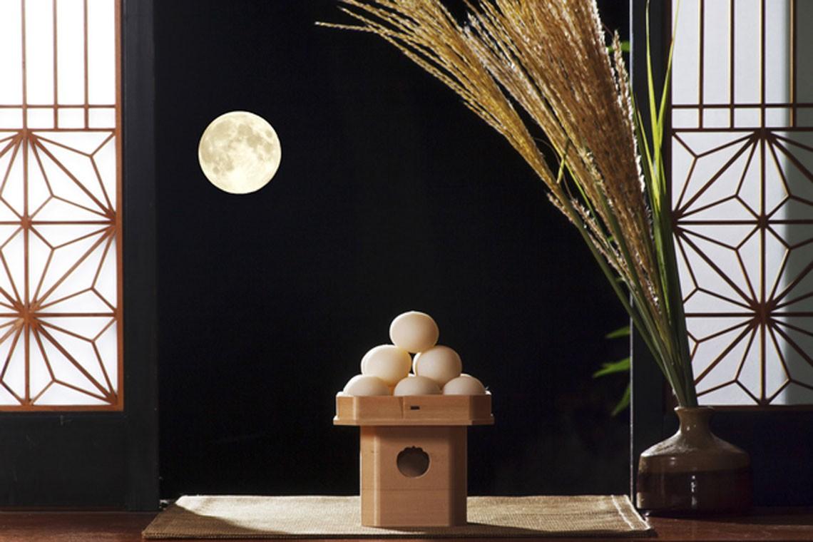 Thức bánh truyền thống trong lễ Trung Thu của người Nhật.