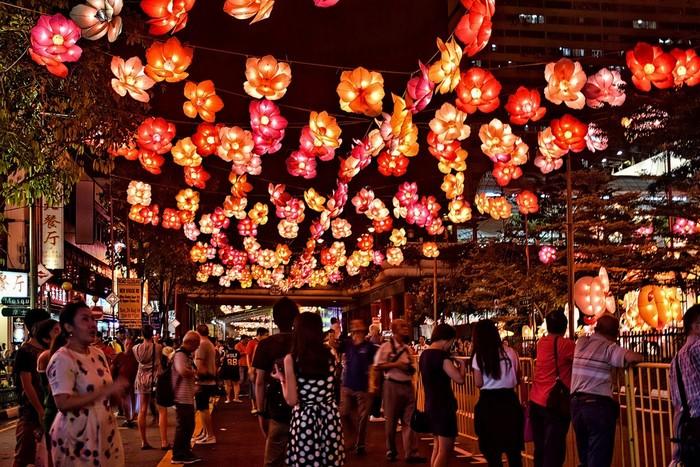 Trung Thu trên đất Singapore.
