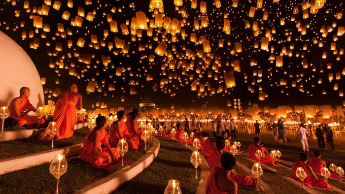 Thái Lan và đêm Trung Thu kỳ diệu
