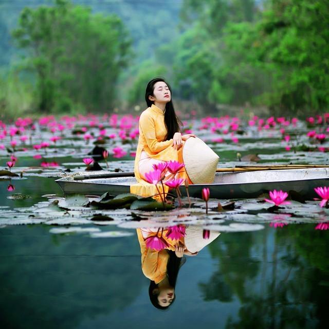 Mơ mộng cùng vẻ đẹp suối Yến