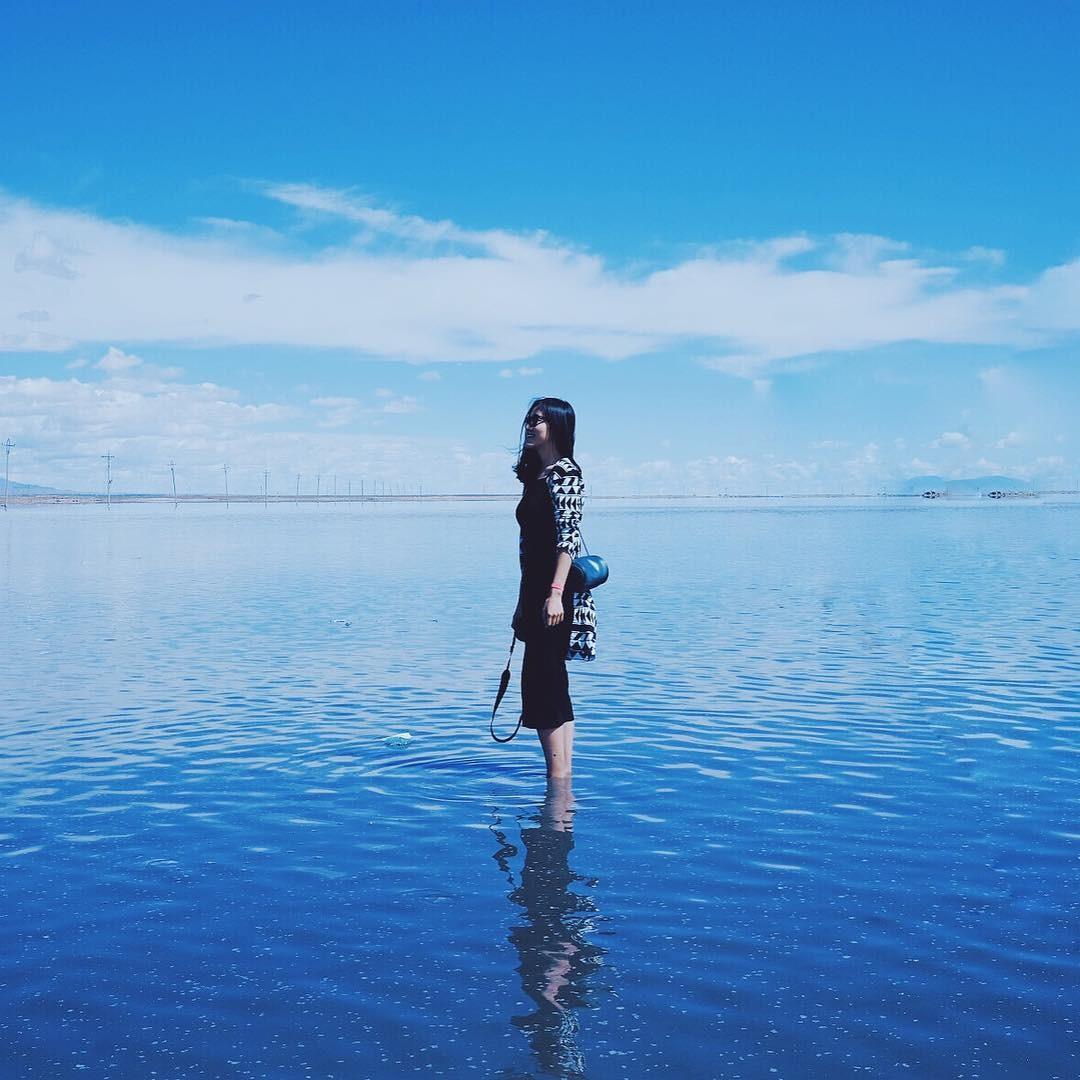 Cứ tưởng đứng giữa đại dương xanh