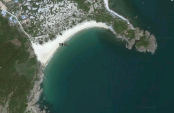 Bãi Ôm - Vòng tay đất liền ôm trọn biển cả vào lòng