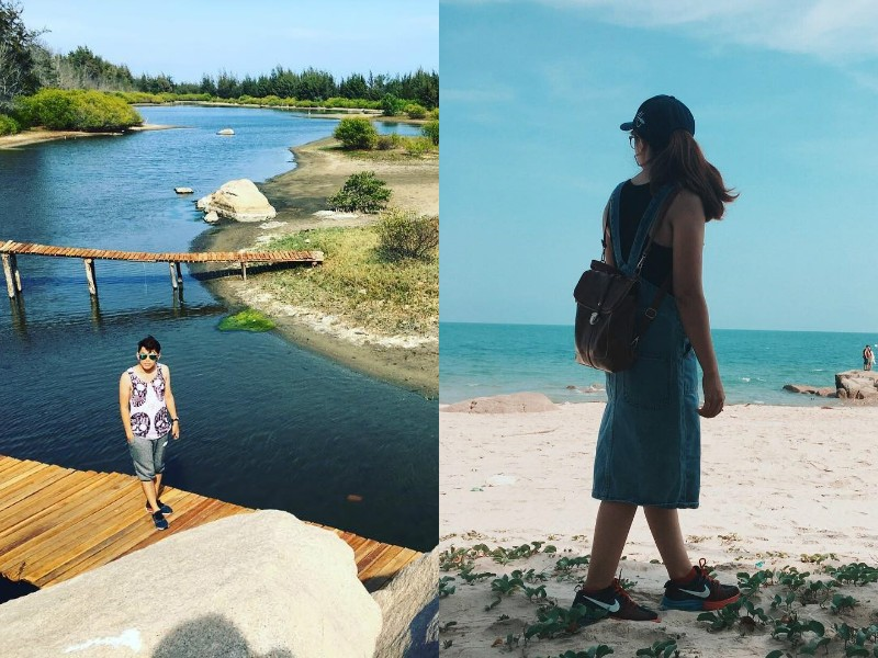 sống ảo ở Hồ Cốc