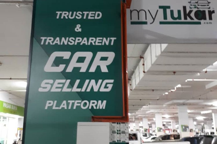 PIllar Trusted Transparent Car Selling Platform myTukar Giant Batu 9 Cheras