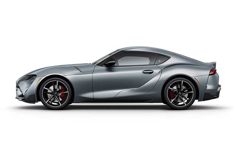 Toyota Supra side view exterior