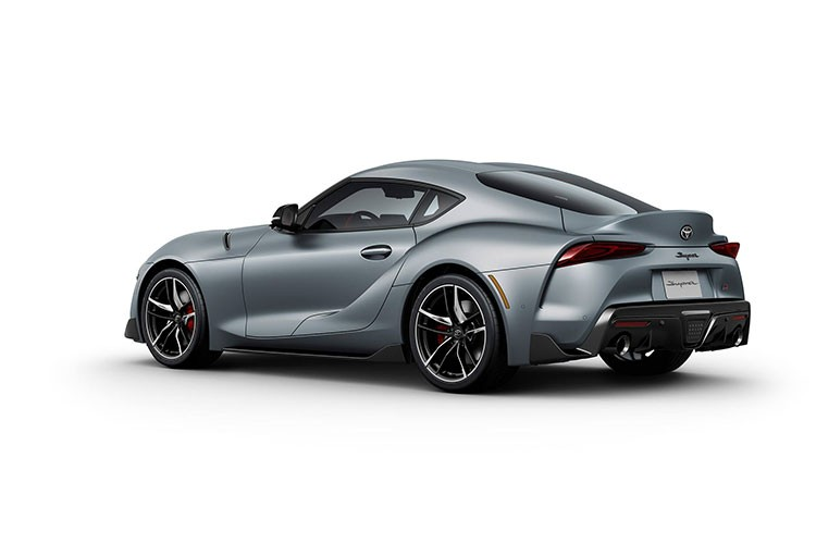 Toyota Supra rear quarter 2019
