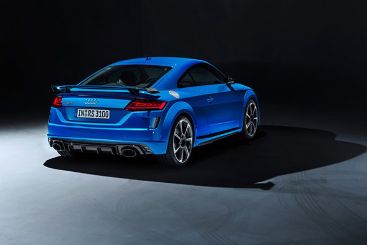 Audi TT RS 2019 Rear Profile Side