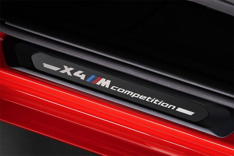 BMW X4M X3M Competition Side sill 2019