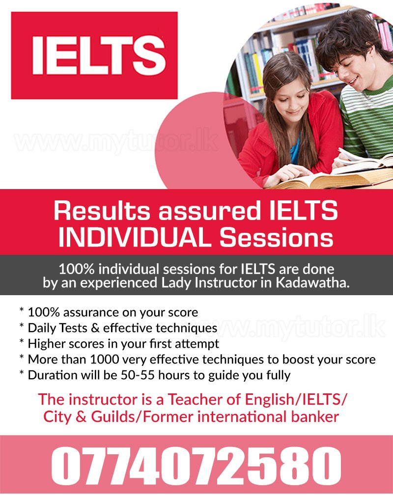 IELTS INDIVIDUAL  CLASSES RESULTS ASSURED