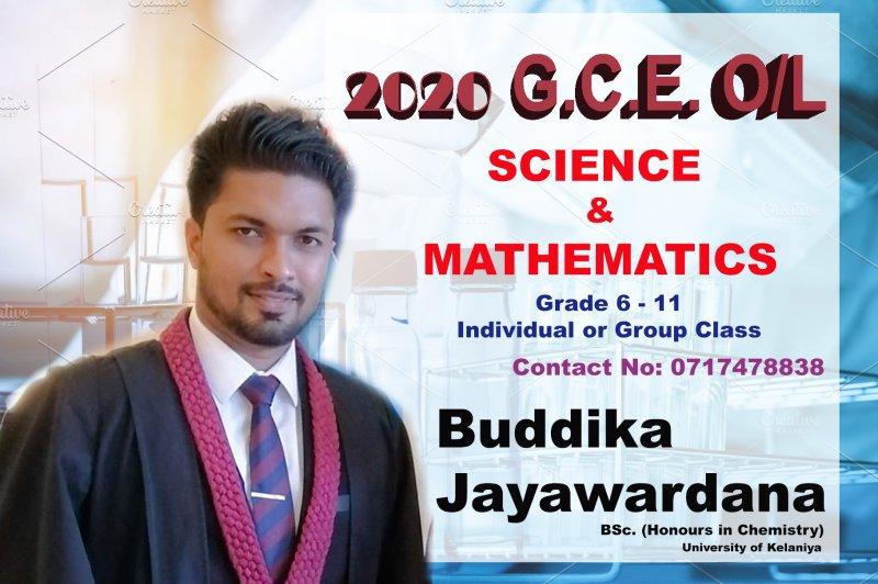 Science O/L (9-11) | Mathematics O/L (6-11) Sinhala / English Medium Classes ( Assistant Lecturer - University of Kelaniya)  )