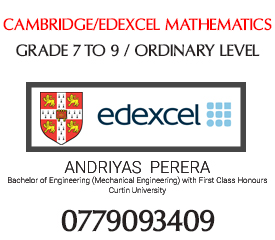 Edexcel/Cambridge Mathematics (Grade 6-OL) (English Medium)