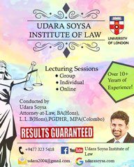London LLB classes in Colombo