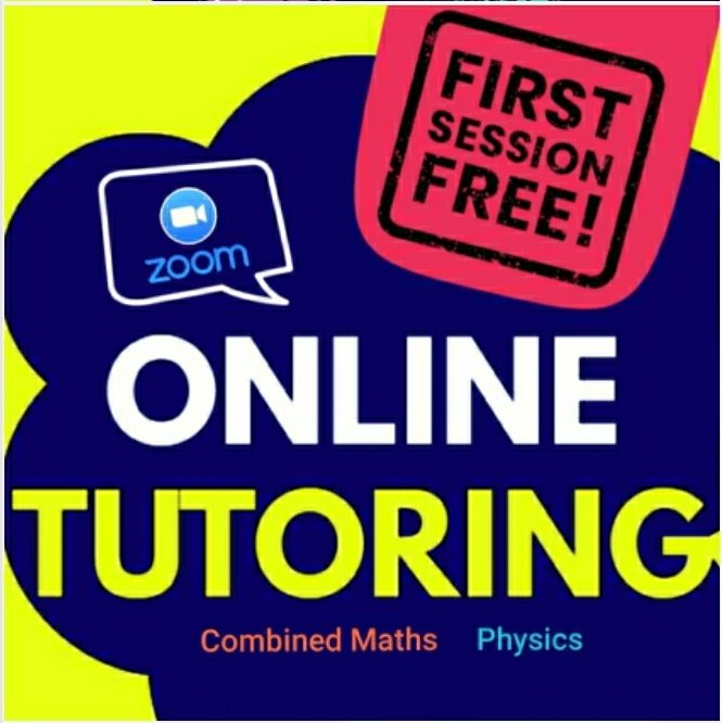 Online Classes : Physics & Combined Maths (Individual)