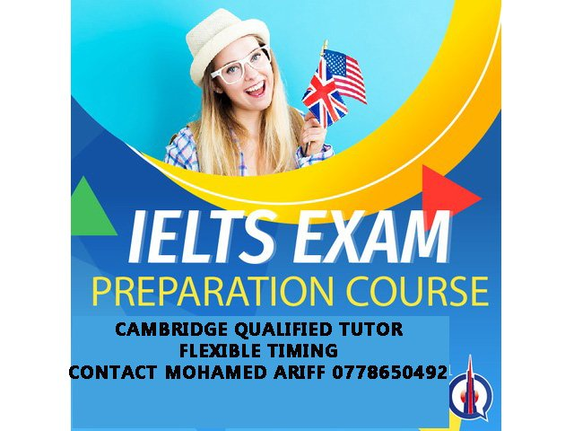IELTS CRASH COURSE