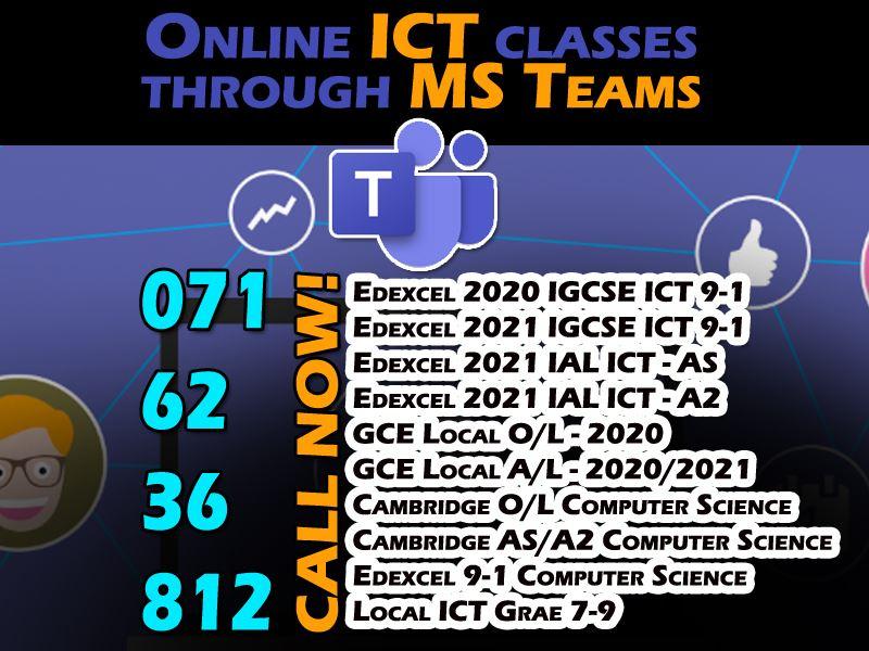ICT Online Classes