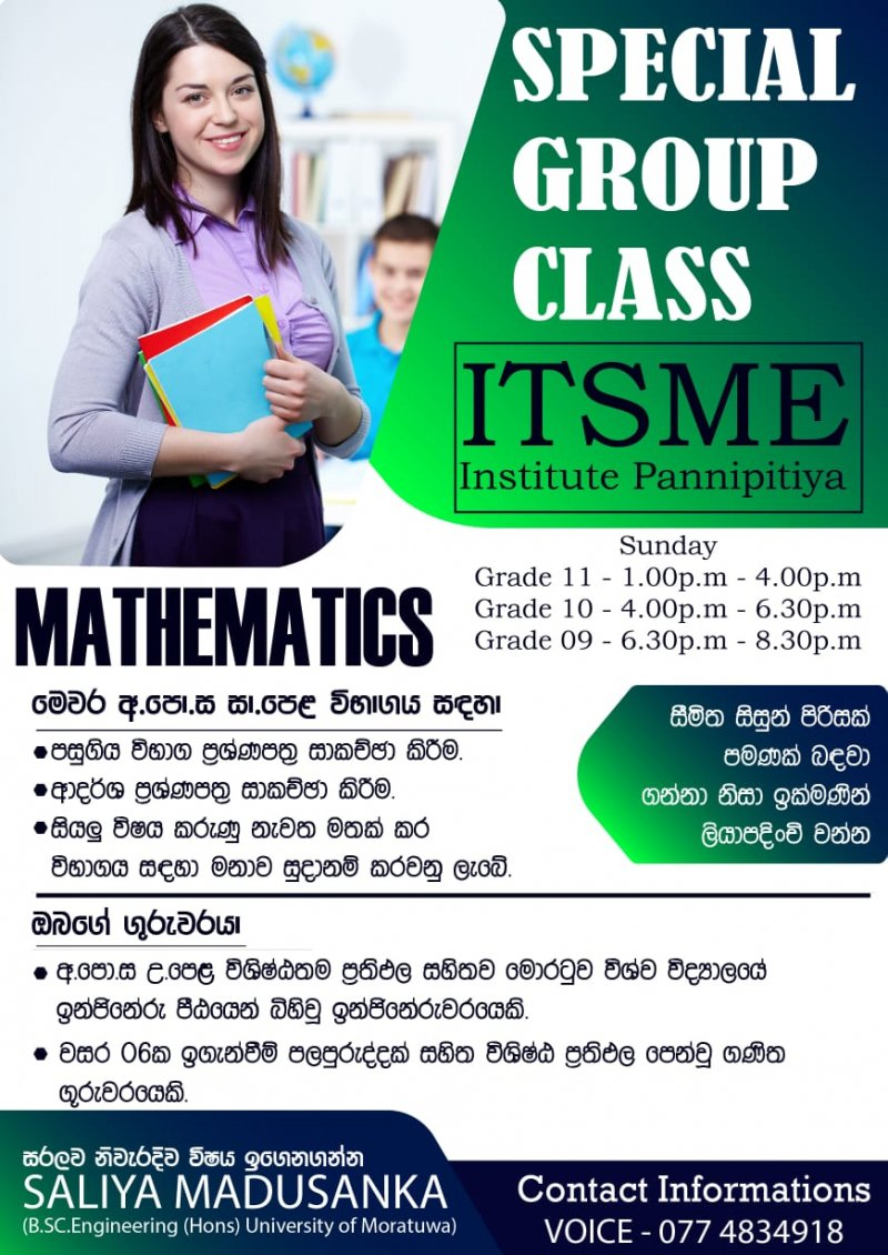Mathematics-home visits
