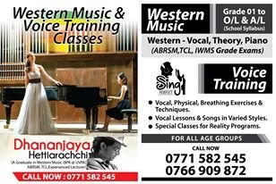 Western Music & Voice Training Classes.