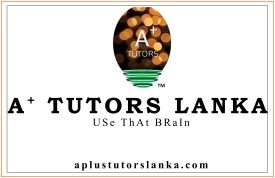 IGCSE / A LEVEL CLASSES (aplustutorslanka.com)