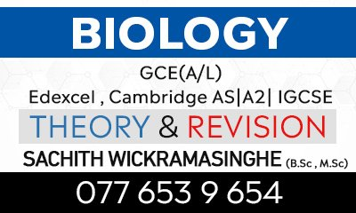 Biology International (Cambrige and Edexcel AS/A2) and Local AL
