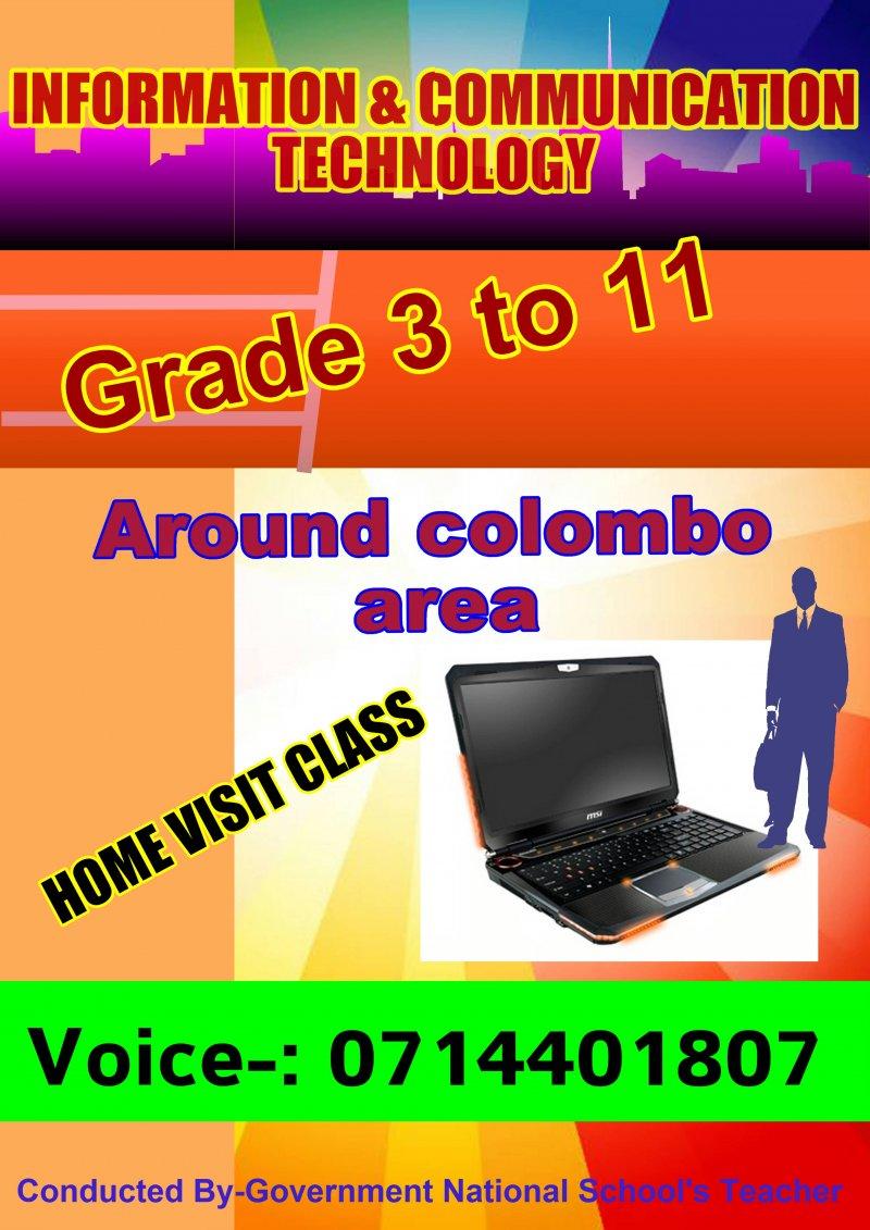 Grade 3 to 11 ICT