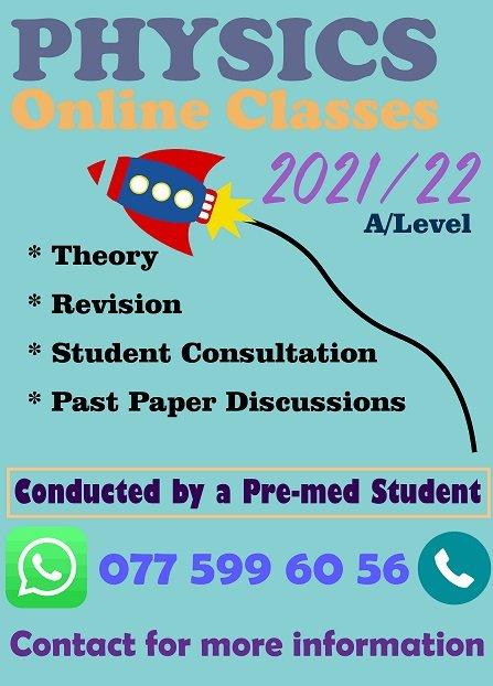 Online Science O/L Classes & Physics A/L Classes