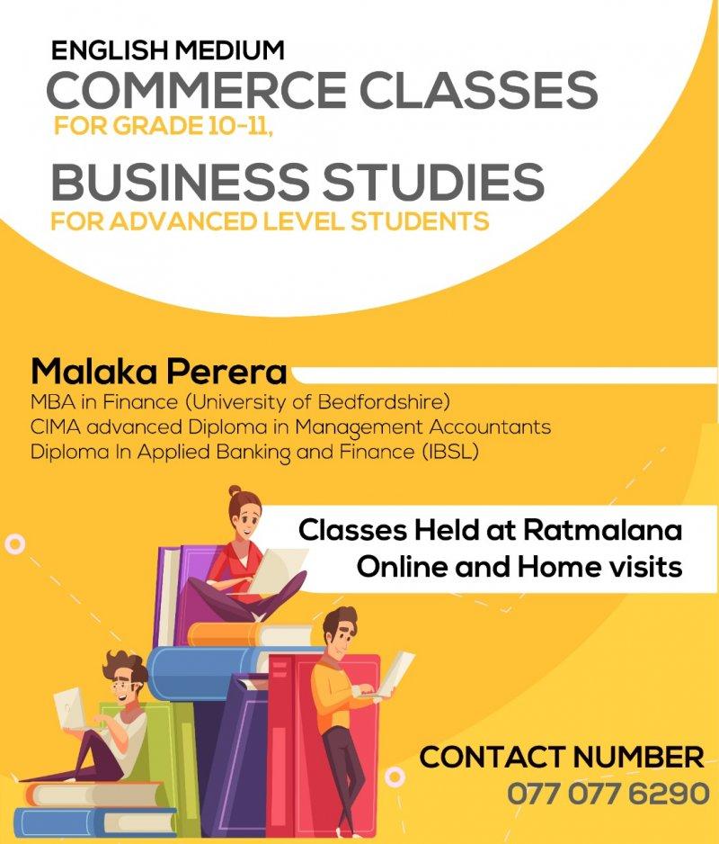 Business Studies and Commerce (English Medium)