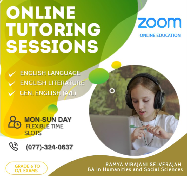 Online Tutoring Classes