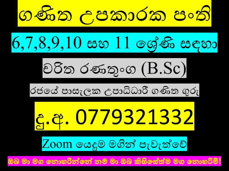 Mathematics for grades 6,7,8,9,10 and 11.