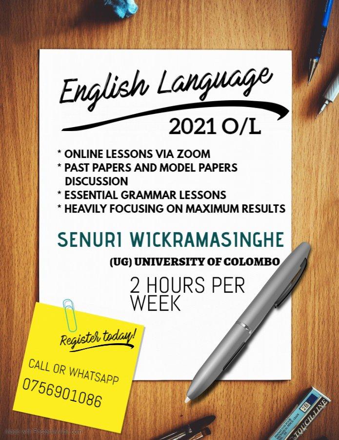 English Language 2021