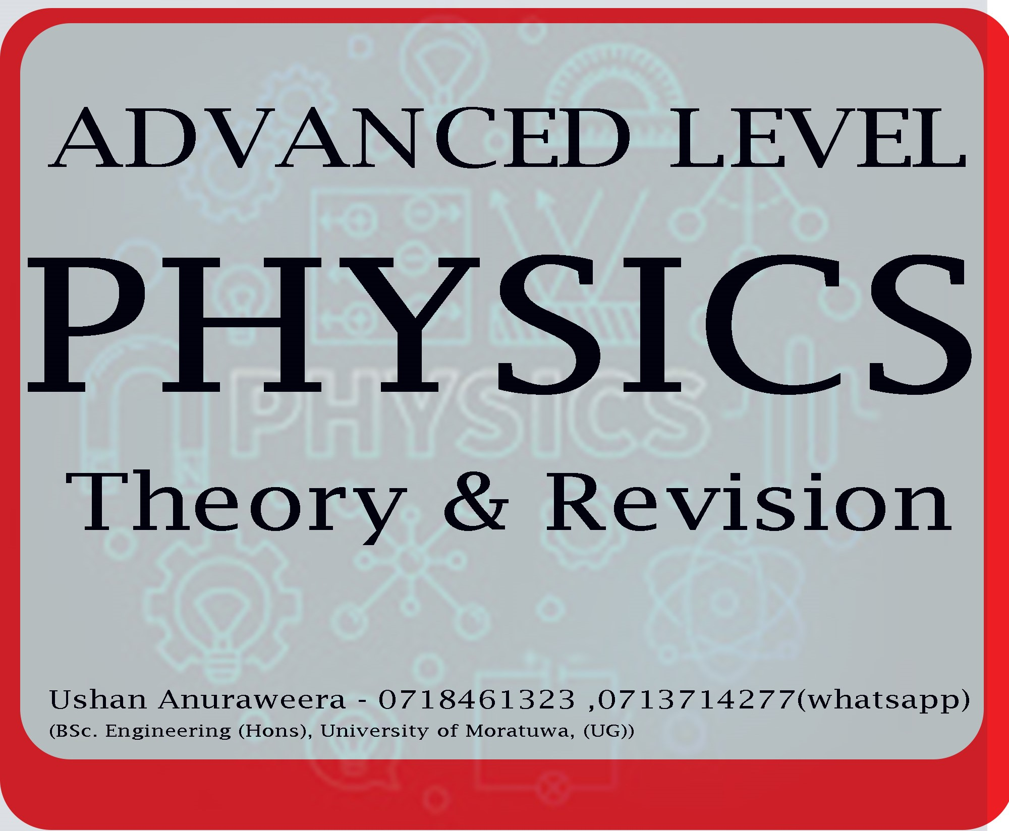 PHYSICS | Individual classes and small group classes for Physics