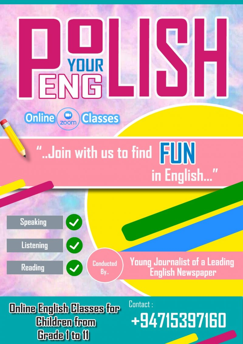 Polish Your English, Discover the Beauty in Science