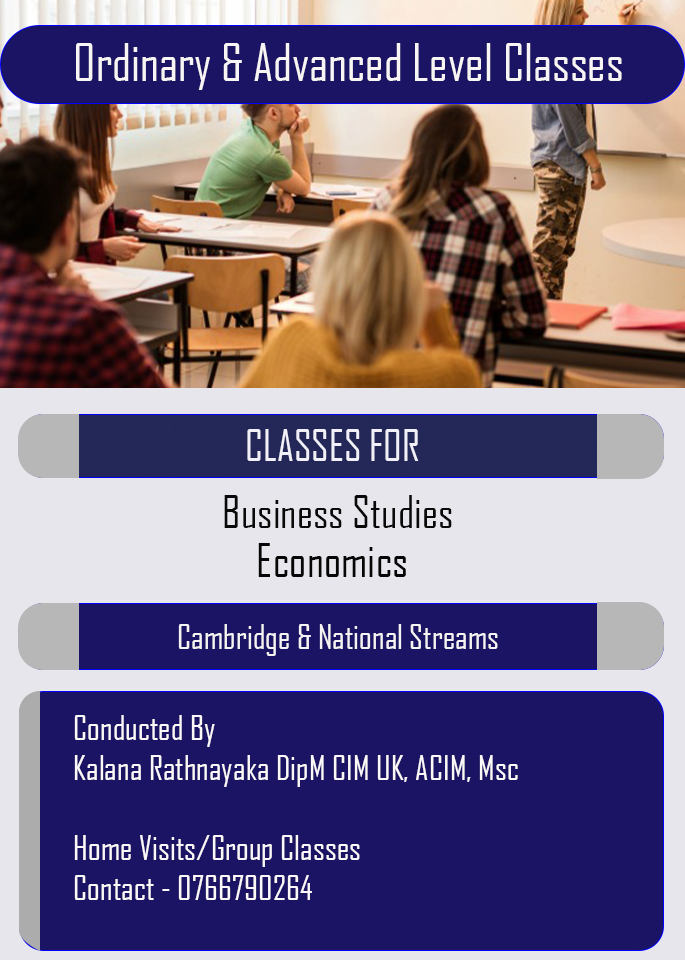 Economics & Business Studies for Cambridge & National Streams (O Level & A Level)