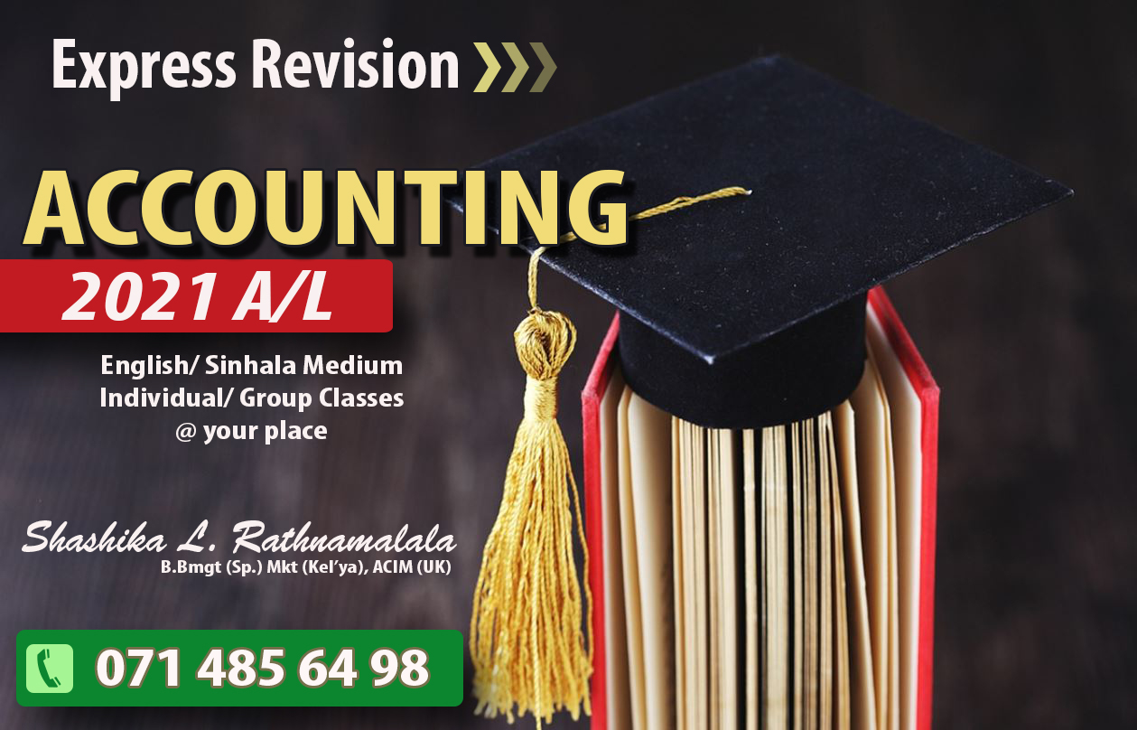 Accounting 2021/2022 A/L