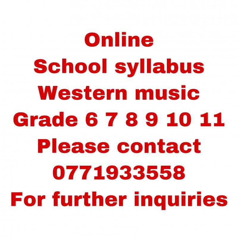 Online western music class