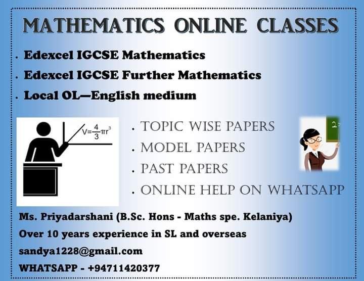 Mathematics online classes